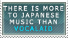 More to Japanese Music-Stamp by LinZeldorf