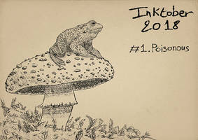 Inktober2018 - Poisonous by Miocarre