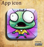 Zinfection game - App icon by J-SantamariaCarpio