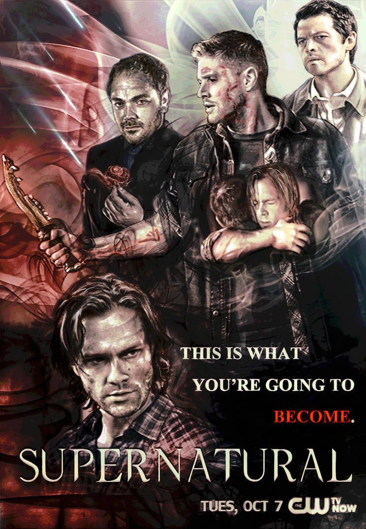 Supernatural Season 10 Poster by captain-corgi-corps on ...