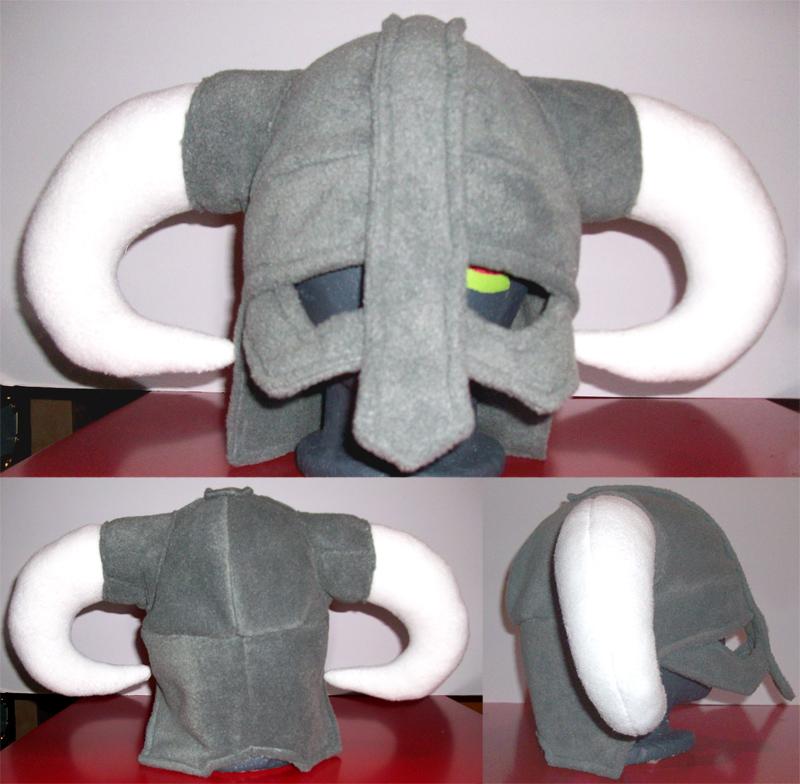 Skyrim Dragonborn Helmet - Adult by melonkittyhats
