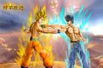 hokuto no dragon_goku vs ken