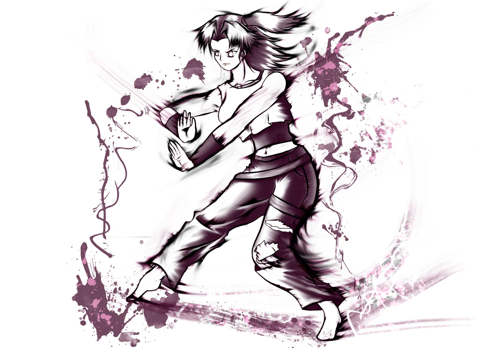 my_fighting_gal_inky_by_swordofdeath