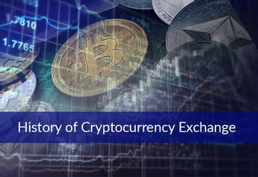 History of Cryptocurrency Exchange