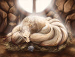 Ninetales and Shellder