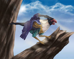 Realistic Chatot by Leashe