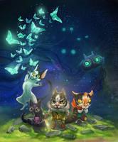 Wondercats by Leashe