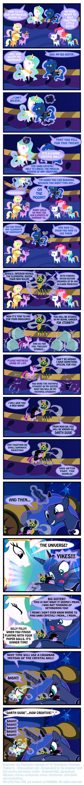 Paper-Rock-Crowbar (revised) by INVISIBLEGUY-PONYMAN