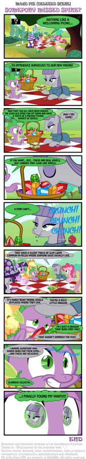 Maud Pie (Deleted Scene) - Somepony missed Spike?