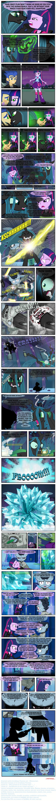 BY SKYWALKER'S HAND! (Part 33 of 35) by INVISIBLEGUY-PONYMAN