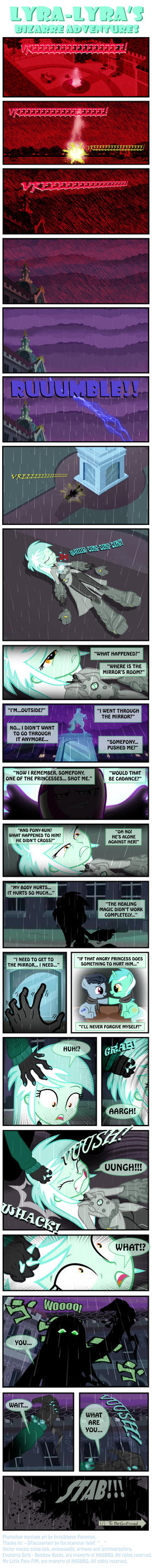 Lyra-Lyra's Bizarre Adventures  (Part- 02) by INVISIBLEGUY-PONYMAN