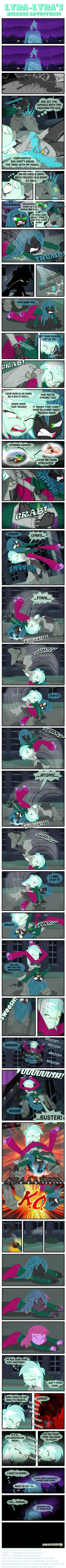 Lyra-Lyra's Bizarre Adventures  (Part- 03) by INVISIBLEGUY-PONYMAN