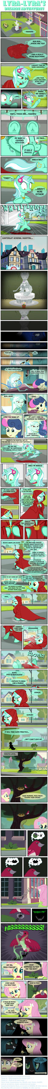 Lyra-Lyra's Bizarre Adventures  (Part- 05) by INVISIBLEGUY-PONYMAN