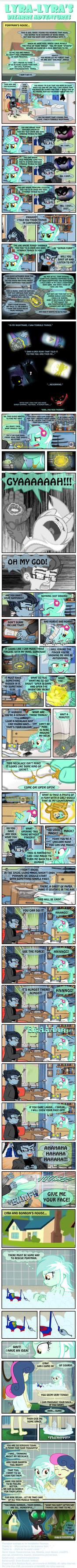 Lyra-Lyra's Bizarre Adventures  (Part- 07) by INVISIBLEGUY-PONYMAN
