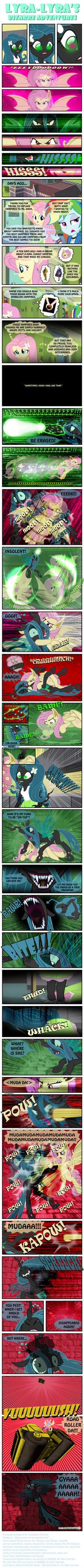 Lyra-Lyra's Bizarre Adventures  (Part- 09) by INVISIBLEGUY-PONYMAN