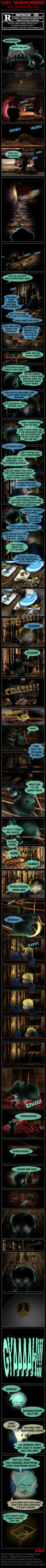B.S.W.H.-Reliquary of Memories - Halloween Special by INVISIBLEGUY-PONYMAN