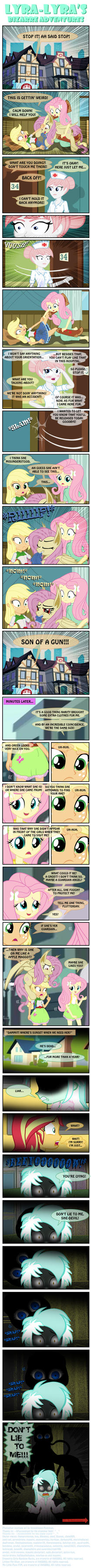 Lyra-Lyra's Bizarre Adventures  (Part- 18) by INVISIBLEGUY-PONYMAN