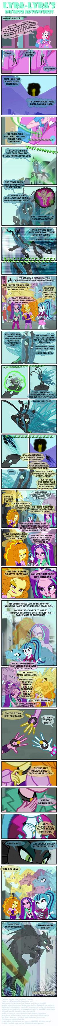 Lyra-Lyra's Bizarre Adventures  (Part- 20) by INVISIBLEGUY-PONYMAN