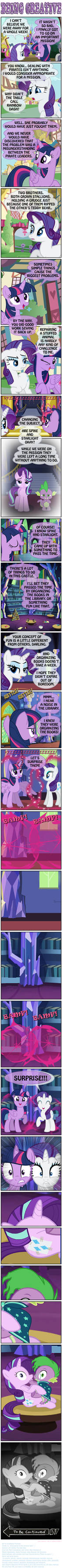 PONY SHORTS - BEING CREATIVE
