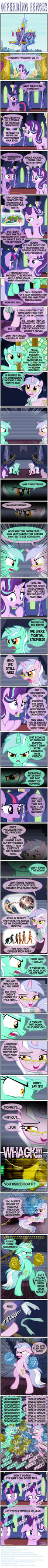PONY SHORTS - OFFENDING FENCES by PONYMAAN