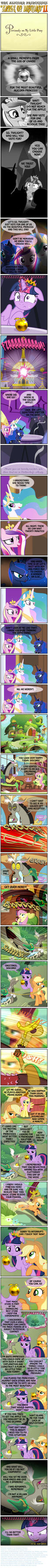 PONY SHORTS - ''THE APPLE OF DISCORD'' (2of3) by PONYMAAN