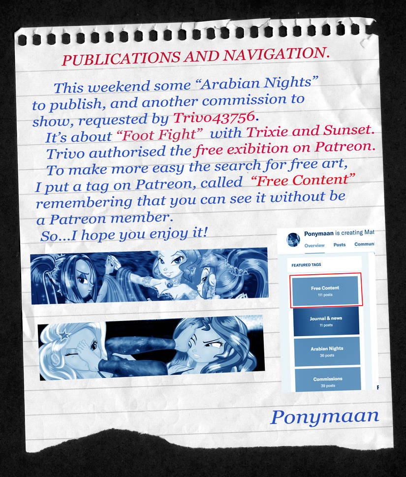 Publications and Navigation  (+18 issues) by PONYMAAN on DeviantArt