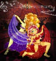<b>Arabian Nights - Duo</b><br><i>PONYMAAN</i>