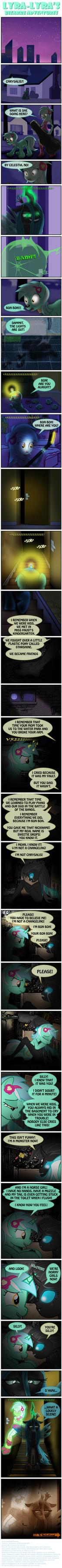Lyra-Lyra's Bizarre Adventures (Part-102 1/2) by PONYMAAN