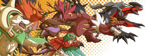 Go! Y team! by Panoptos