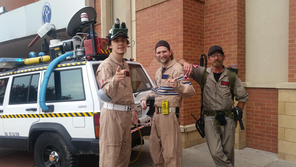 Who you gonna call? Ghostbusters! by AwesomeHeart
