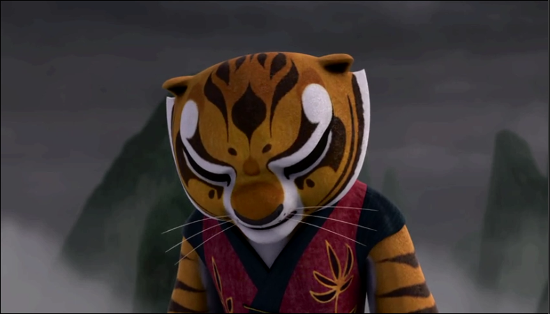 Tigress sad over Po's death by Betabel1001