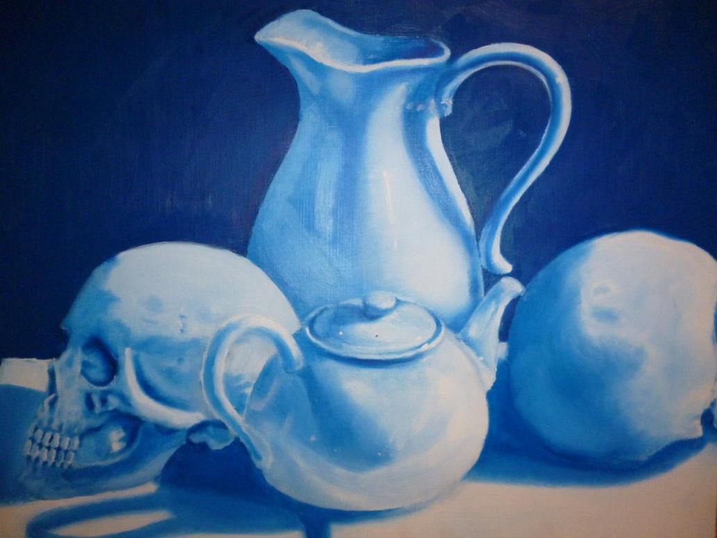 Still Life Oil Painting by DragonLindy