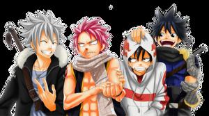 Hiro Mashima Characters