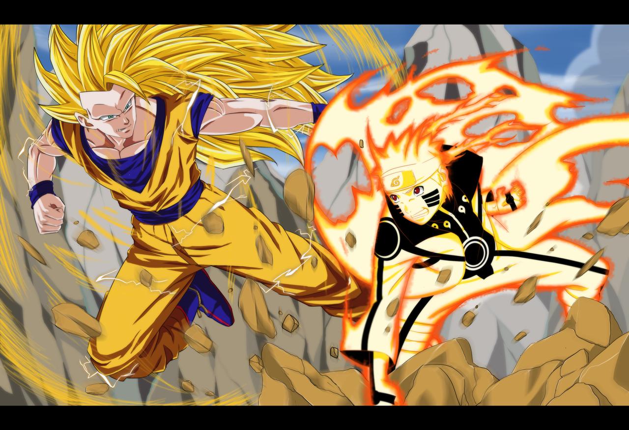 Goku vs Naruto ¿Quién gana? ¡Entra y Opina!