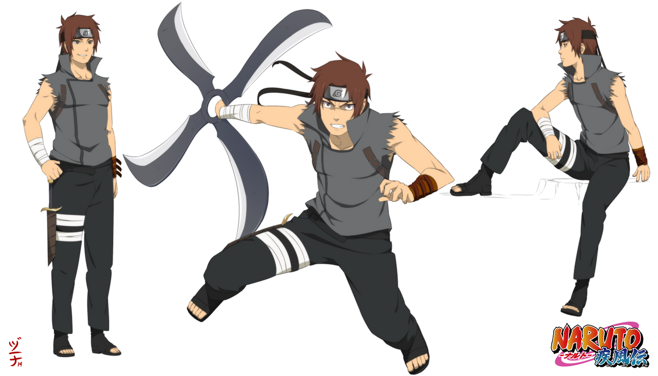 Deviantart Character Design Commission : Commission yoichi senju set by dannex on deviantart