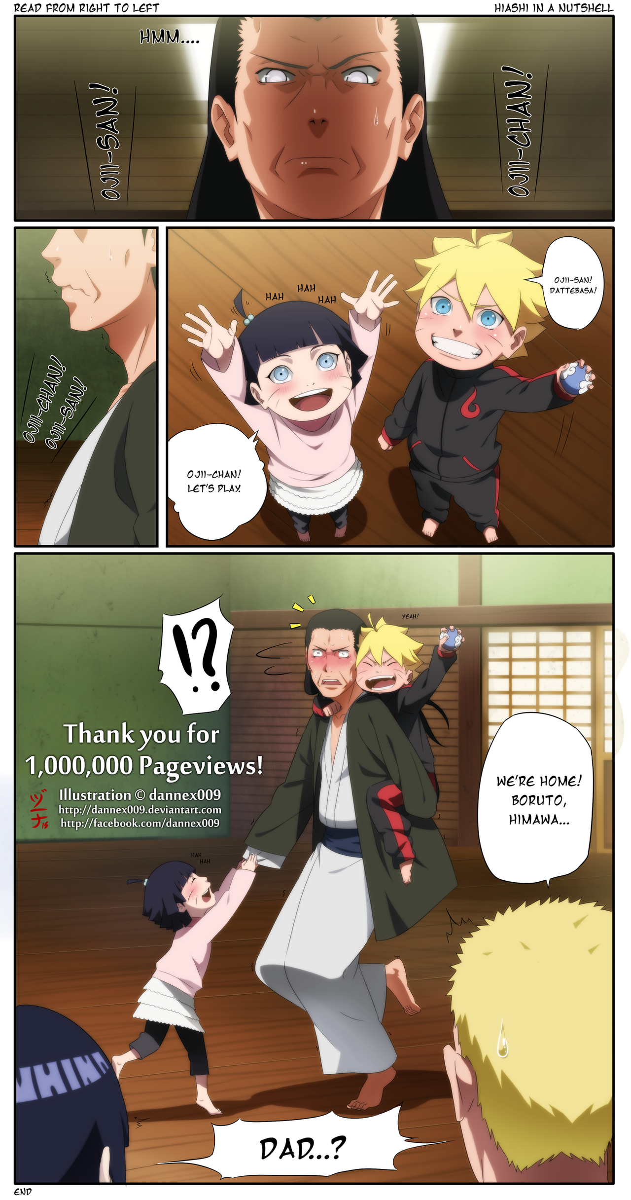 Naruhina - Thank You for 1 Million Pageviews by dannex009 on ... Happy ...