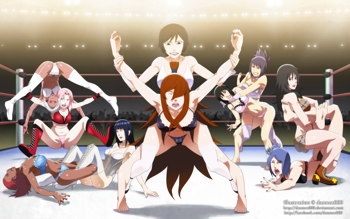 Commission - Great Kunoichi Wrestling BR by dannex009