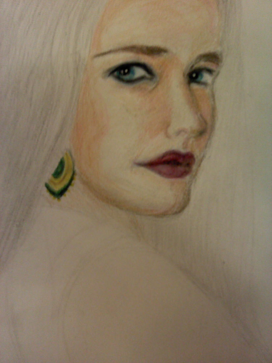 Eva Green WIP 2 by