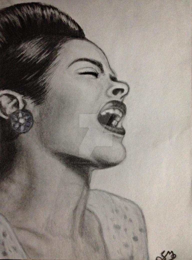 Billie Holliday by TheLunaLily