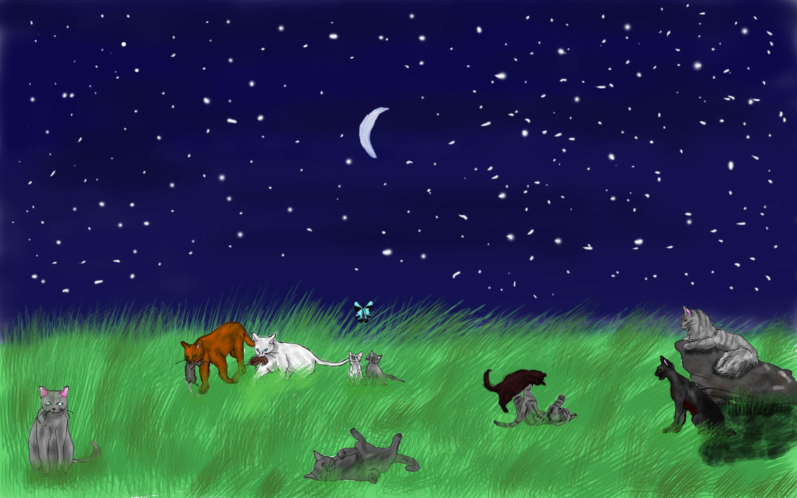 Warrior cats in newleaf by iamblossom