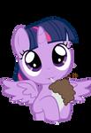 Alicorn Twilight Drinking Milkshake