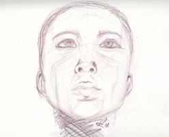 Face Sketch by CiNiTriQs
