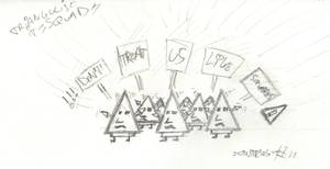 Triangle Squad - Don't treat us like squares!