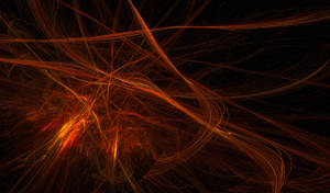 Fiery Fractal Accelerated Particle