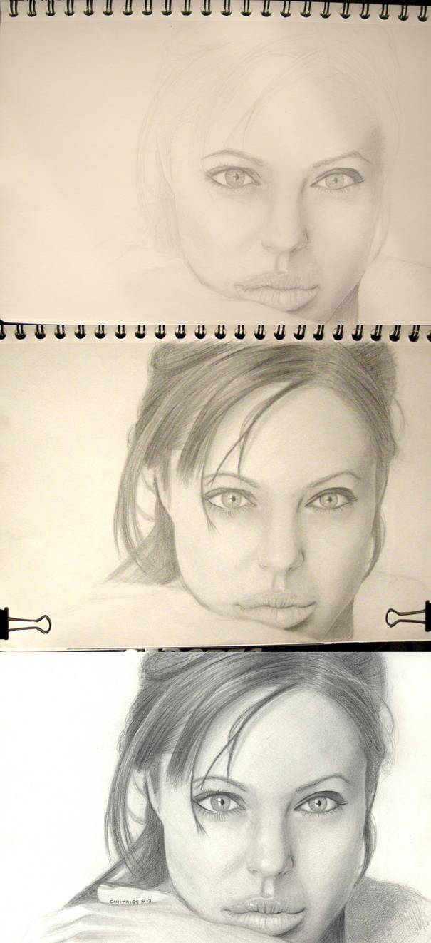 Angelina Jolie - Work In Progress by CiNiTriQs