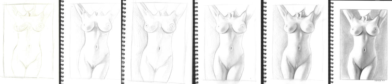 Nude WIP by CiNiTriQs
