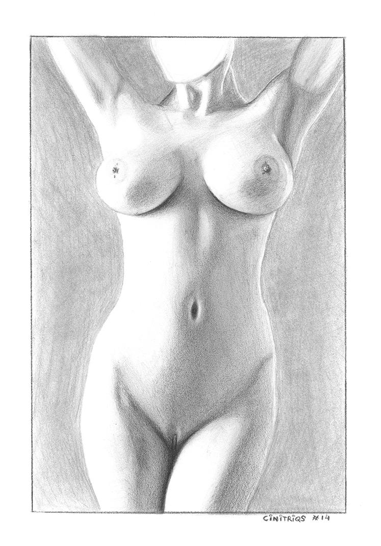 Nude Study Miss Anonymous by CiNiTriQs
