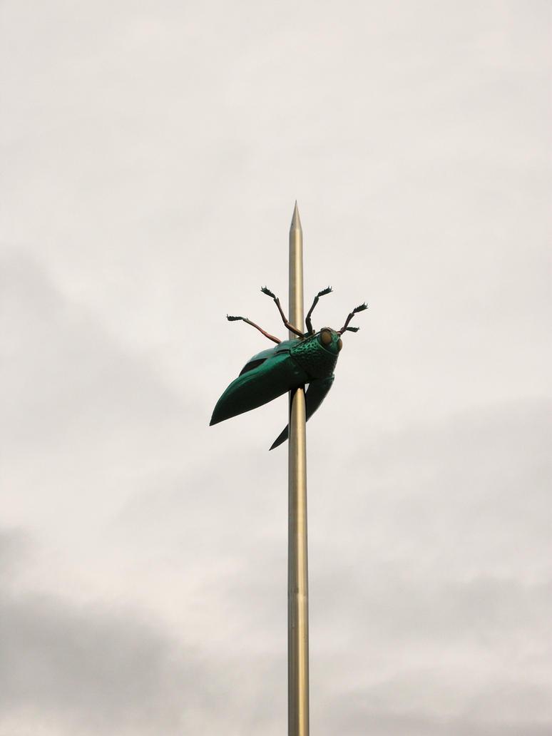 Statue Leuven Ladeuzeplein - Jan Fabre by CiNiTriQs