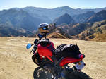 LA Canyons, Mulholland, Ducati Monster 821 by CiNiTriQs