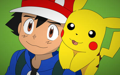 Ash and Pikachu 3! (Upgrade) by CosmoRing
